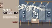 Landing Page Inviting to Cultural Event at Museum