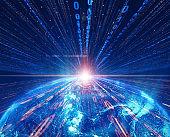 global communications network.