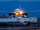 Landing to International Airport