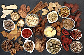 Large Chinese Herbal Medicine Collection