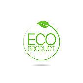 Eco product icon