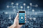 Mobile application and internet online security system