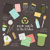 Zero waste on kitchen