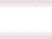Colorful Striped zigzag background.