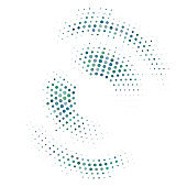 Abstract Circle Dot on white Background. Vector Illustration
