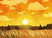 Susuki grass Suslandscape