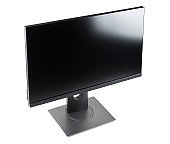 computer monitor, screen isolated on white background.