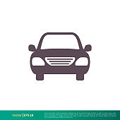 Car Transportation Icon Vector Logo Template Illustration Design. Vector EPS 10.