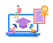 Online Education Obtaining Knowledge in Distance