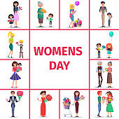Happy Womens Day for Girls, Women and Grandmothers