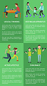 Logical Thinking Active Lifestyle Posters Family
