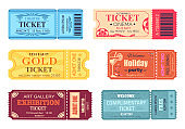 Theatre Cinema Ticket Best Party Gold Welcome Set