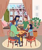 가족들과의 여가시간