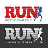 Run Professional Club. Collection of Two Pictures