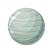 Planet Uranus Icon