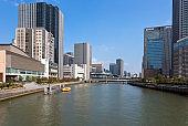 Osaka City,Fukushima Ward,Dojima,Nakanoshima area