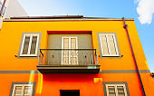 Old Apartment house residential home architecture Olbia reflex