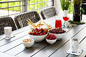 Juicy and sweet berries on the table