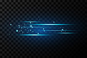 Blue light effect. Abstract laser beams of light. Light effect on beautiful banners.vector illustration.