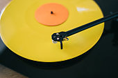 Turntable play LP vinyl record