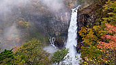 The wild Kegon Falls