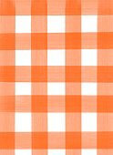 Infinity squares vertical pattern, orange stripes on a white background.