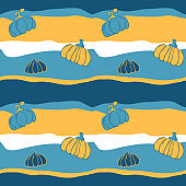 호박 패턴 배경