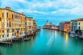 Venice, Italy, Grand canal.