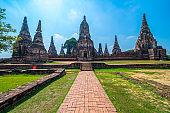 Wat Chaiwattanaram Temple, Ayutthaya.