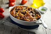 Lasagna or pasta casserole
