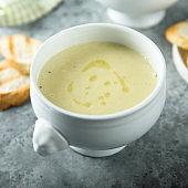 Celery asparagus soup
