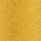 Gold foil seamless vintage pattern