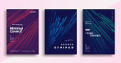 Minimal dynamic covers design with color simple line