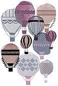 air baloons illustration
