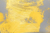 Artists oil paints on paper closeup abstract background