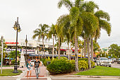 St. Armands Circle, Sarasota, Florida, United States of America USA