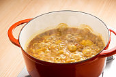 Make curry with home pot