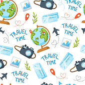Cartoon Travel or Vacation collection