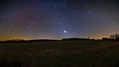Orion, Venus, and Zodiacal Light