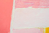 Colorful Pink Abstract Art Background