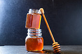 honey sweet treat pour dessert meal on the table tasty serving size  copy space for text food background rustic