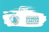 ovarian cancer awareness month poster