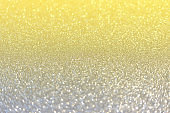 Trendy colors 2021 - Gray and Yellow. Glitter background for your project