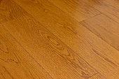 Wood flooring in the room