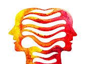 graphic drawing empathy telepathy