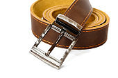 leather belt for men fashion for man buckle and brown strap