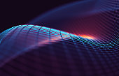 Abstract background of tech and science.