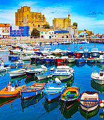 """Coastal towns of Spain.Castro Urdiales.Cantabria.""""n"""