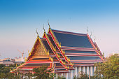 pagoda in Wat Phra Chettuphon Wimon Mangkhalaram (Wat pho), Bangkok, Thailand