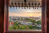 Golden Mount, Wat Saket temple, Bangkok Golden Mount, Wat Saket temple, Bangkok